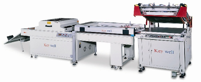 3/4- Auto Clam-shell Screen Printing Machine