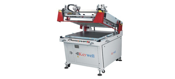 Semi-auto Clam-shell Screen Printing Machine